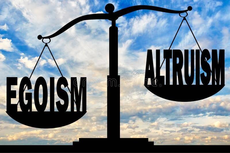 égoïsme et altruisme